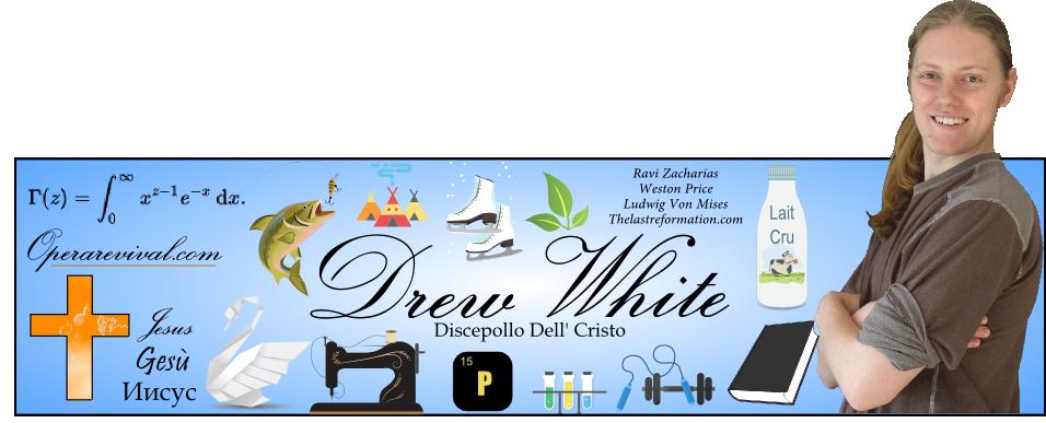 Drew White header image